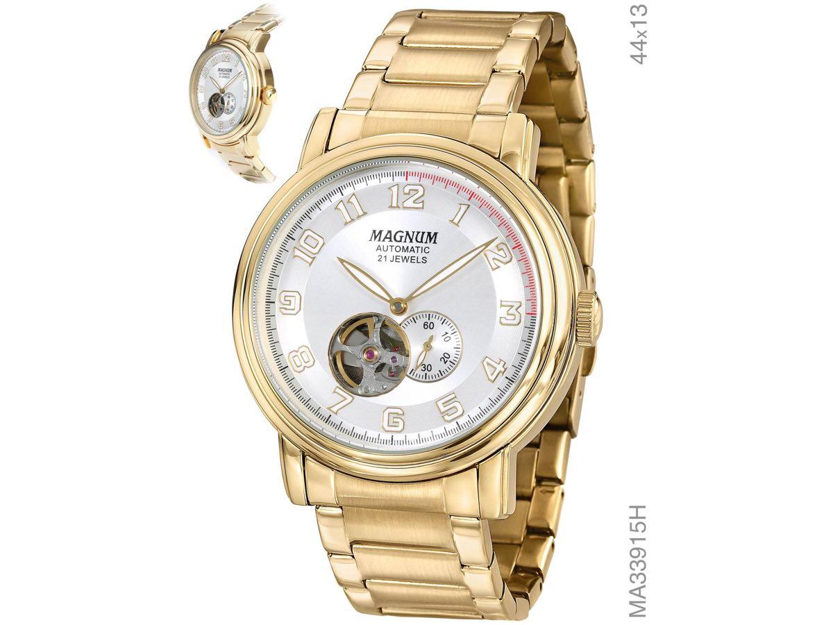 Relógio de Pulso AUTOMÁTICO MA33915H - Magnum