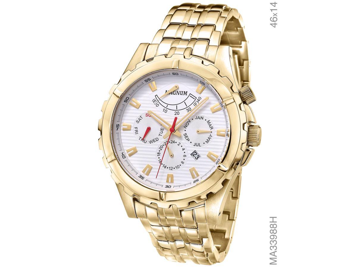 Relógio de Pulso AUTOMÁTICO MA33988H - Magnum