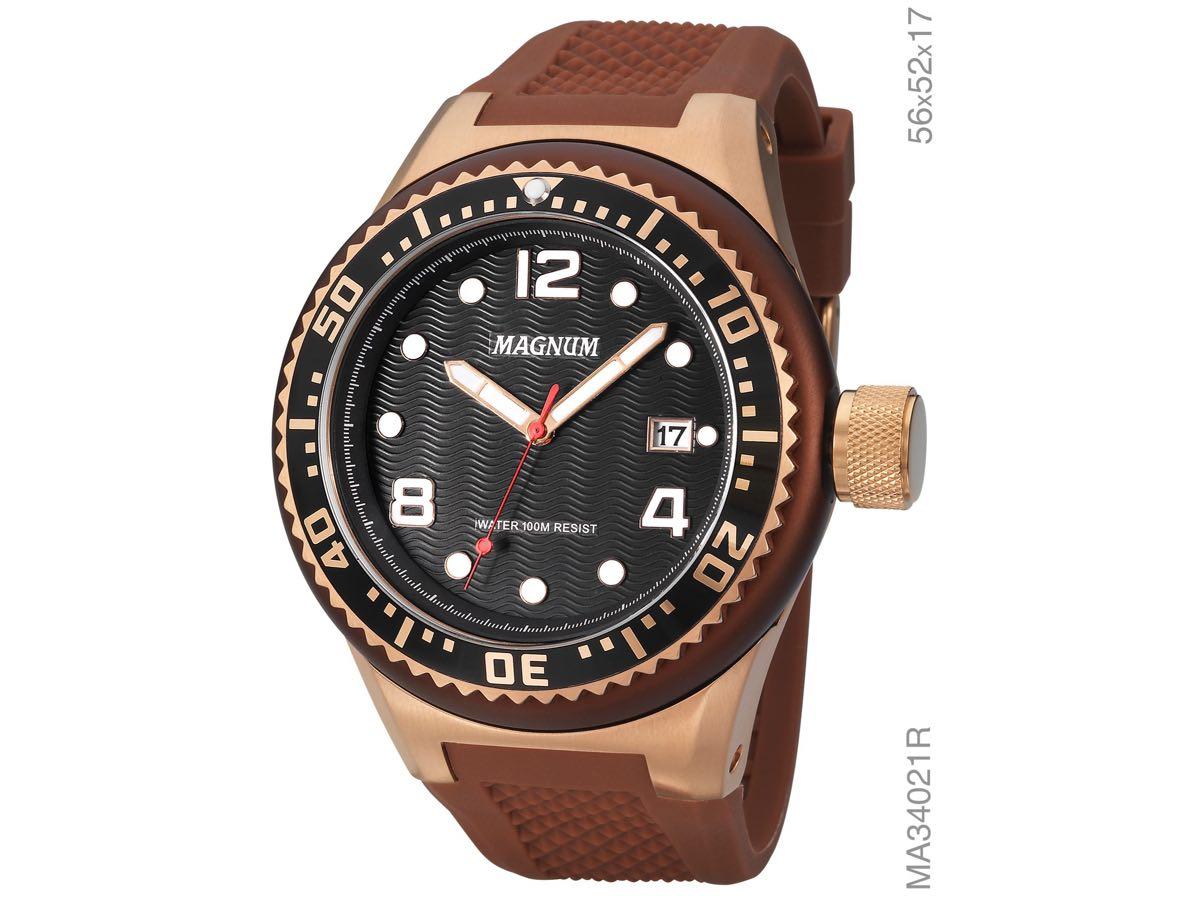 Relógio de Pulso OVERSIZED MA34021R - Magnum